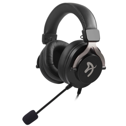 Arozzi Gaming Headset Aria 3.5mm, Black