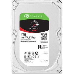"Seagate NAS HDD IronWolf PRO 4TB ST4000NE001 7200 RPM, 3.5 "", 4000 GB, SATA, 256 MB"