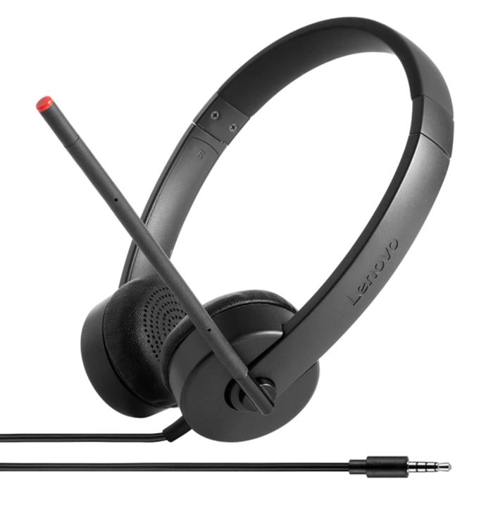 Lenovo Analog Headset Essential Stereo Black