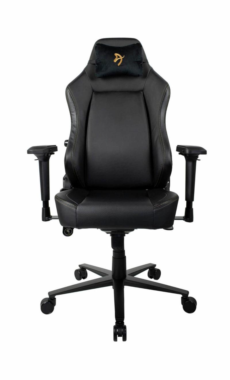 Arozzi Gaming Chair Primo Pu Black/Gold logo