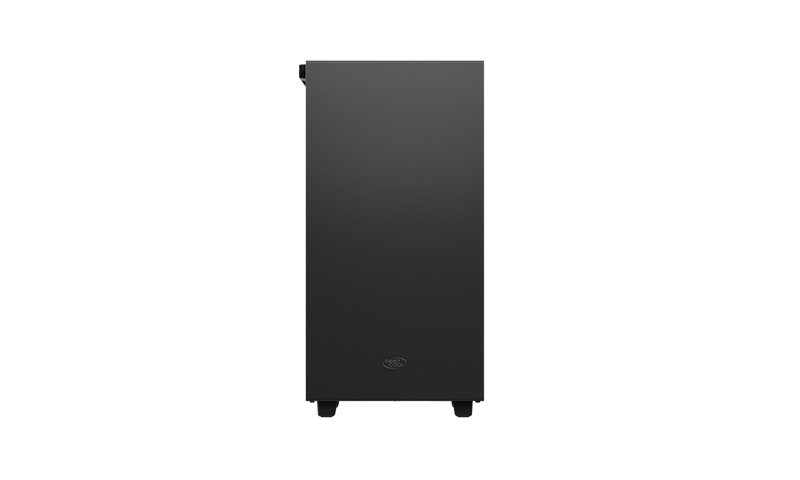 Deepcool MACUBE 110 Black, mATX, 4, USB3.0x2; Audiox1, ABS+SPCC+Tempered Glass, 1×120mm DC fan