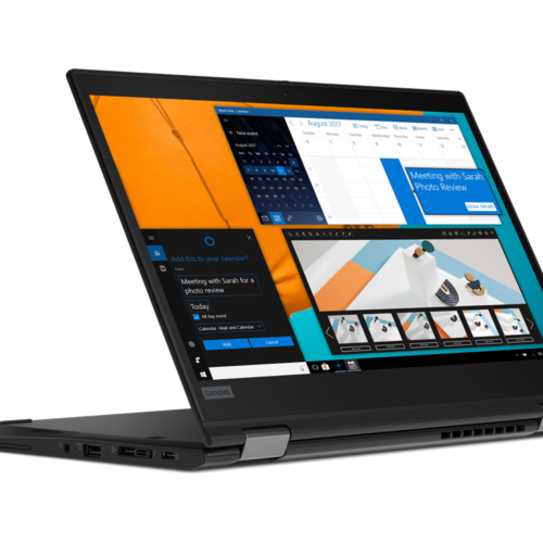 "Lenovo ThinkPad X13 Yoga (Gen 1) Black, 13.3 "", IPS, Touchscreen, Full HD, 1920 x 1080, Anti-reflection, Intel Core i5, i5-10210U, 8 GB, SSD 256 GB, Intel UHD, No Optical drive, Windows 10 Pro, 802.11ax, Bluetooth version 5.1, Keyboard language English, Keyboard backlit, Warranty 36 month(s), Battery warranty 12 month(s)"