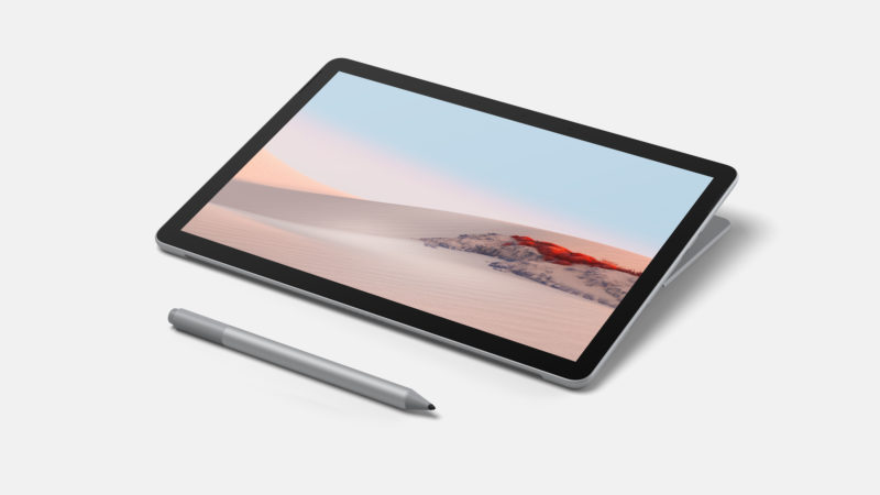 "Microsoft Surface Go 2 Platinum, 10.5 "", Touchscreen, 1920 x 1280 pixels, Intel Pentium, Gold 4425Y, 4 GB, SSD 64 GB, Intel UHD 615, Windows 10 Home in S mode, 802.11a/b/g/n/ac/ax, Bluetooth version 5.0, Warranty 24 month(s)"
