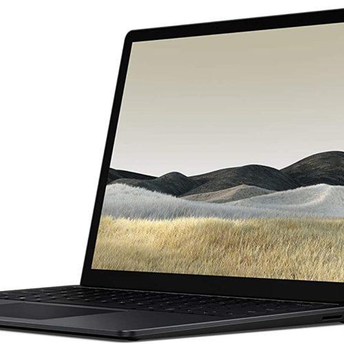 "Microsoft Surface Laptop 3 Black, 13.5 "", Touchscreen, 2256 x 1504 pixels, Intel Core i5, i5-1035G7, 8 GB, LPDDR4x, SSD 256 GB, Intel Iris Plus, No ODD, Windows 10 Home, 802.11ax, Bluetooth version 5.0, Keyboard language English, Keyboard backlit, Warranty 24 month(s)"