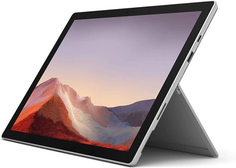 "Microsoft Surface Pro 7 Platinum, 12.3 "", Touchscreen, 2736 x 1824 pixels, Intel Core i5, i5-1035G4, 8 GB, LPDDR4x, SSD 256 GB, Intel Iris Plus, No ODD, Windows 10 Home, 802.11ax, Bluetooth version 5.0, Warranty 24 month(s)"