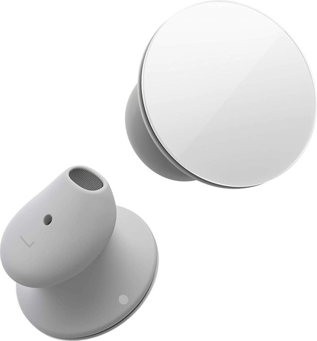 Microsoft Surface Earbuds HVM-00010 Built-in microphone, In-ear, Glacier