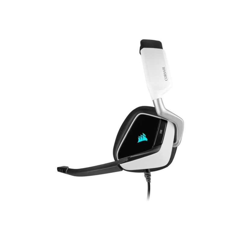 Corsair Premium Gaming Headset VOID RGB ELITE Built-in microphone, White, Over-Ear