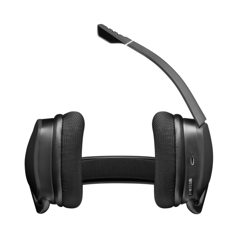 Corsair Wireless Premium Gaming Headset with 7.1 Surround Sound VOID RGB ELITE Built-in microphone, Carbon, Over-Ear