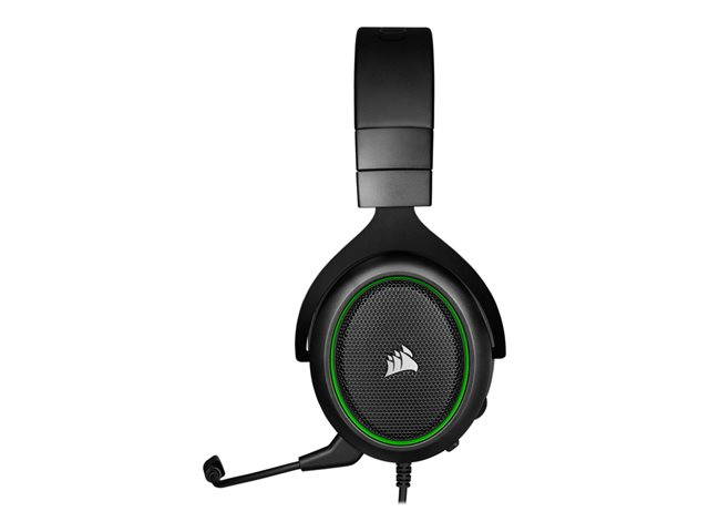 Corsair PRO STEREO Gaming Headset HS50 Built-in microphone, Green, Over-Ear