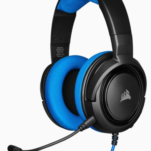 Corsair Stereo Gaming Headset HS35 Built-in microphone, Blue, Over-Ear