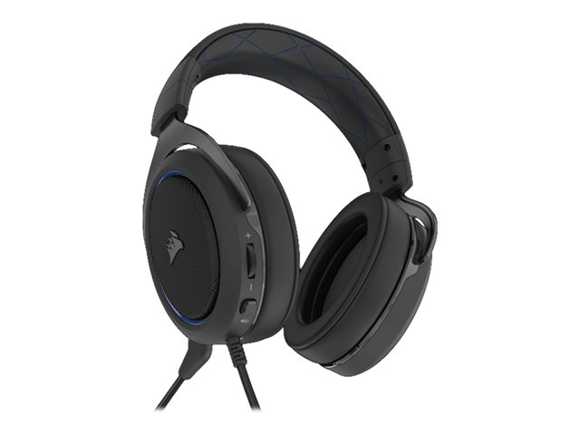 Corsair Gaming Headset HS50 PRO STEREO Built-in microphone, Blue, Over-Ear