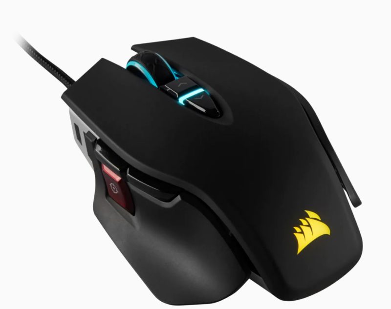 Corsair Tunable FPS Gaming Mouse M65 RGB ELITE Wired, 18000 DPI, Black