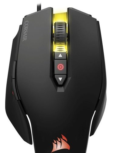 Corsair Gaming Mouse M65 PRO RGB FPS Wired, 12000 DPI, Black