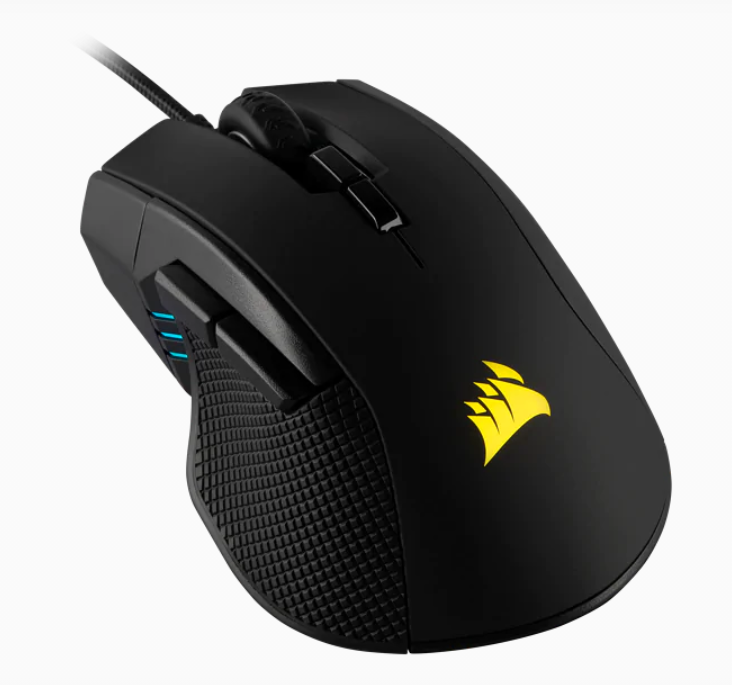 Corsair Gaming Mouse IRONCLAW RGB FPS/MOBA Wired, 18.000 DPI, Black