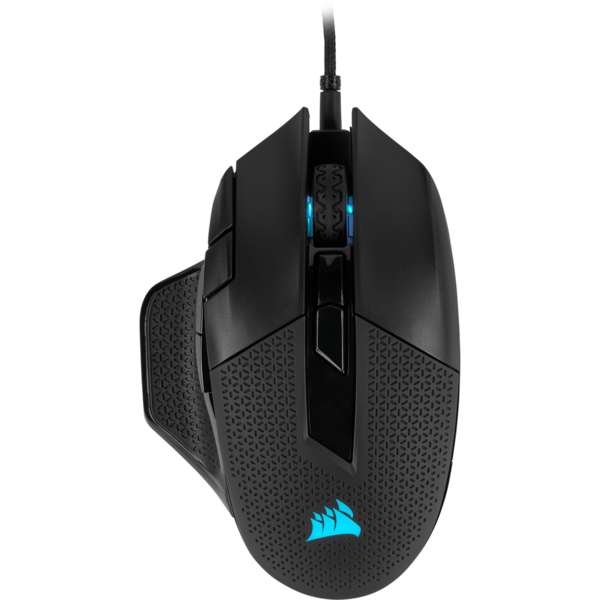 Corsair Gaming Mouse NIGHTSWORD RGB Wired, 18000 DPI, Black