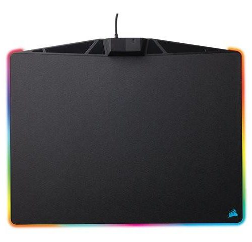 Corsair MM800 RGB POLARIS Gaming mouse pad, 350 x 260 x 5 mm, Black