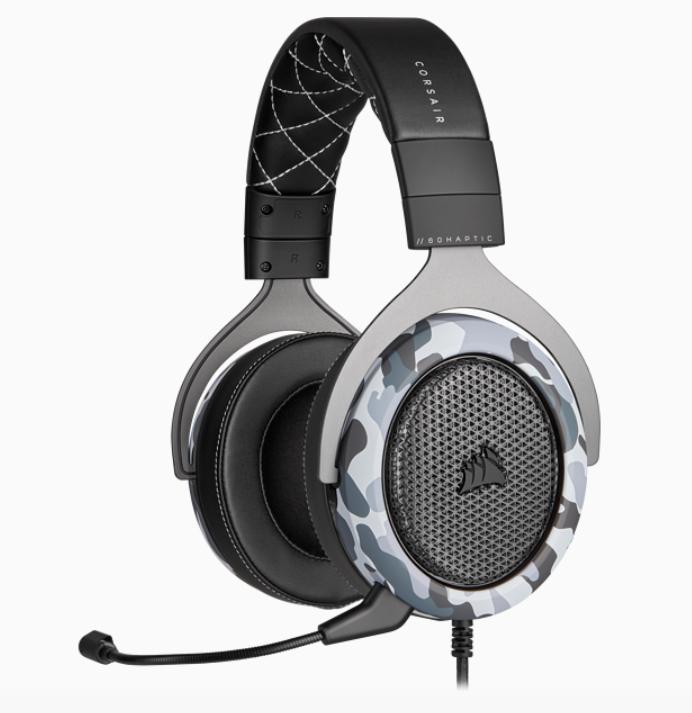 Corsair Stereo Gaming Headset HS60 HAPTIC Black/Grey, Headset