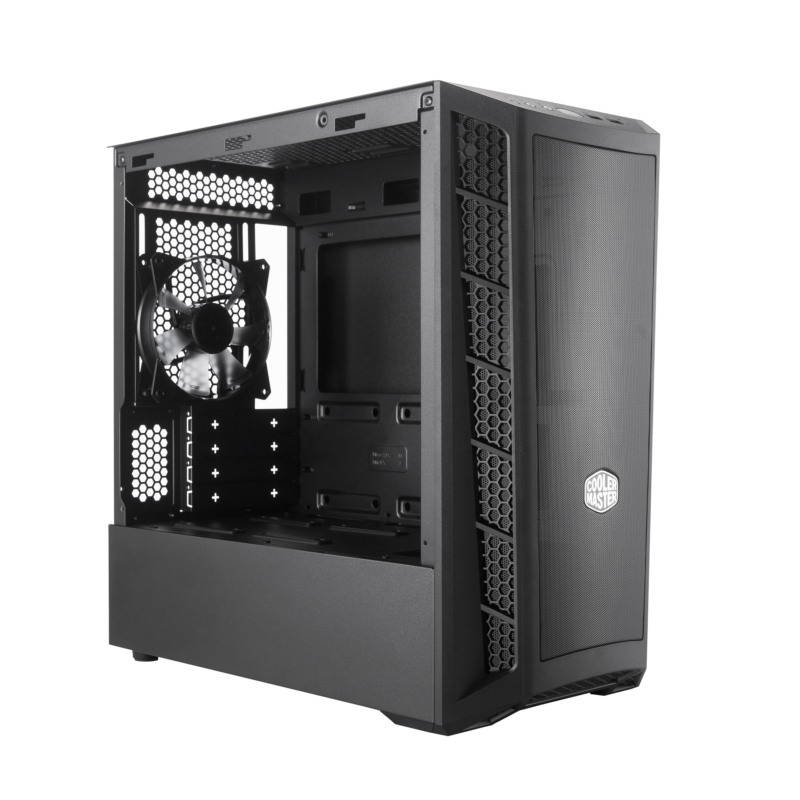 Cooler Master MasterBox MB311L Side window, Black, Micro ATX, Power supply included No
