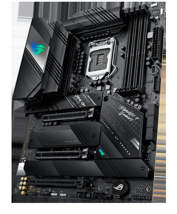 Asus ROG STRIX Z590-F GAMING WIFI Memory slots 4, Supported hard disk drive interfaces M.2, SATA, Number of SATA connectors 6, Chipset Intel Z, Processor family Intel, ATX, DDR4, Processor socket LGA1200