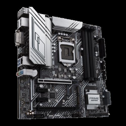 Asus PRIME Z590M-PLUS Memory slots 4, Supported hard disk drive interfaces M.2, SATA, Number of SATA connectors 5, Chipset Intel Z, Processor family Intel, mATX, DDR4, Processor socket LGA1200