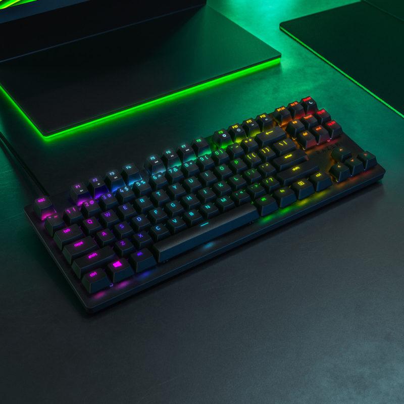 Razer Huntsman Tournament Ed. Gaming keyboard, RU, Wired, Black