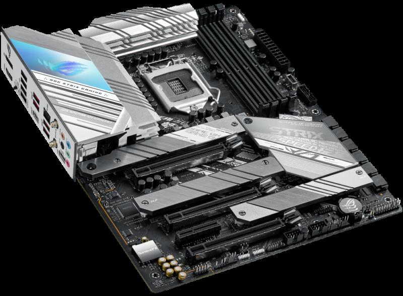Asus ROG STRIX Z590-A GAMING WIFI Memory slots 4, Chipset Intel Z, Processor family Intel, ATX, DDR4, Processor socket LGA1200