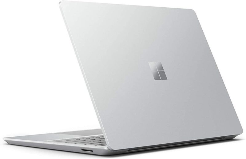 "Microsoft Surface Laptop Go Platinum, 12.4 "", Touchscreen, 1536 x 1024 pixels, Intel Core i5, 1035G1, 8 GB, LPDDR4x, SSD 256 GB, Intel UHD, Windows 10 Home in S mode, 802.11ax, Bluetooth version 5.0, Keyboard language English, Keyboard backlit, Warranty 24 month(s)"