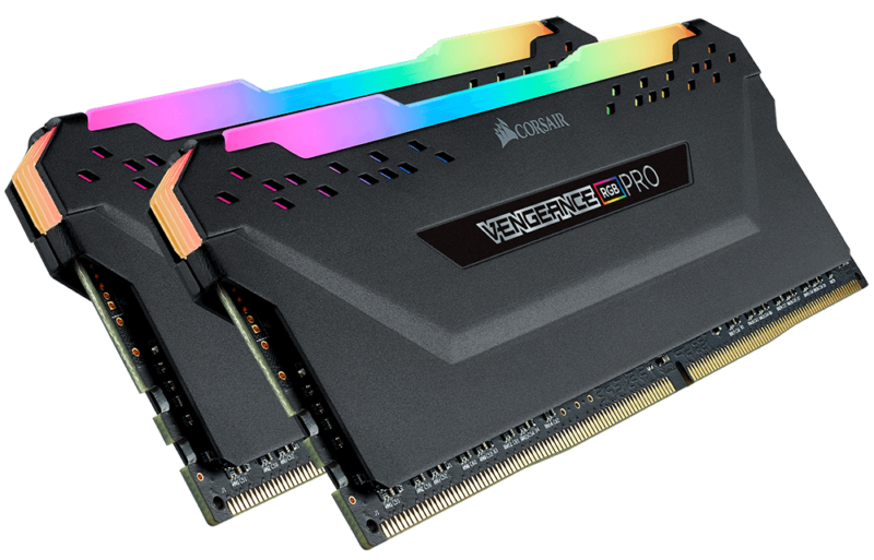 Corsair C18 AMD Ryzen Memory Kit VENGEANCE RGB PRO 16 GB, DDR4, 3600 MHz, PC/server, Registered No, ECC No