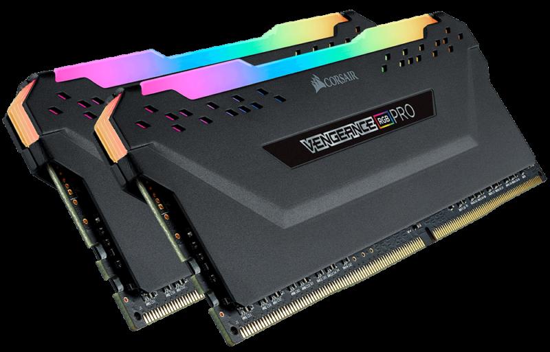 Corsair C18 Memory Kit VENGEANCE RGB PRO 16 GB, DDR4, 3600 MHz, PC/server, Registered No, ECC No