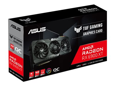 Asus TUF-RX6900XT-O16G-GAMING AMD, 16 GB, Radeon RX 6900 XT, GDDR6, PCI Express 4.0, Processor frequency 2340  MHz, HDMI ports quantity 1, Memory clock speed 2105 MHz