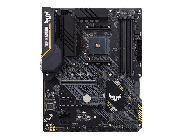 ASUS TUF GAMING B450-PLUS II Asus TUF GAMING B450-PLUS II Memory slots 4, Number of SATA connectors 6 x SATA-600 (RAID), max 128GB, Chipset AMD B, Processor family AMD, ATX, DDR4, Processor socket AM4