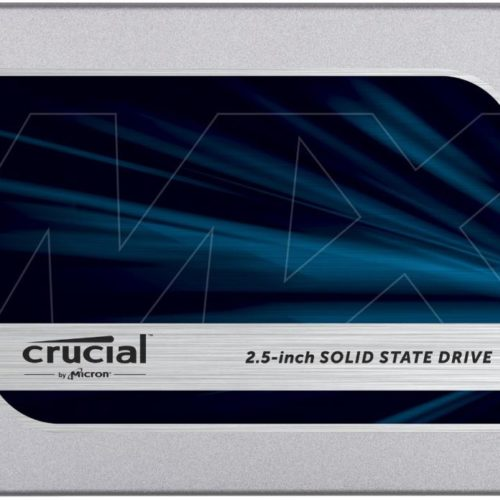 SSD|CRUCIAL|MX500|500GB|SATA 3.0|TLC|Write speed 510 MBytes/sec|Read speed 560 MBytes/sec|2,5″|MTBF 1800000 hours|CT500MX500SSD1