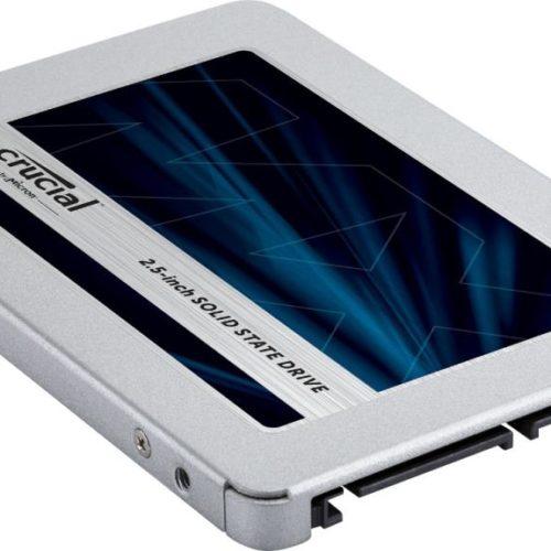 SSD|CRUCIAL|MX500|1TB|SATA 3.0|TLC|Write speed 510 MBytes/sec|Read speed 560 MBytes/sec|2,5″|MTBF 1800000 hours|CT1000MX500SSD1