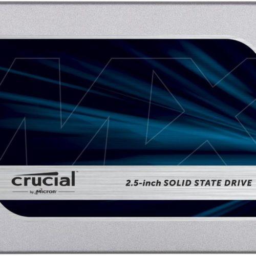 SSD|CRUCIAL|MX500|250GB|SATA 3.0|TLC|Write speed 510 MBytes/sec|Read speed 560 MBytes/sec|2,5″|MTBF 1800000 hours|CT250MX500SSD1