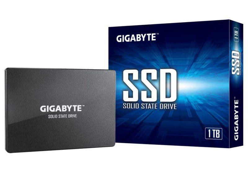SSD|GIGABYTE|1TB|SATA 3.0|Write speed 500 MBytes/sec|Read speed 550 MBytes/sec|2,5″|MTBF 2000000 hours|GP-GSTFS31100TNTD