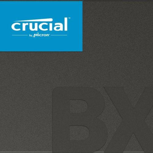 SSD|CRUCIAL|BX500|480GB|SATA 3.0|Write speed 500 MBytes/sec|Read speed 540 MBytes/sec|2,5″|MTBF 1500000 hours|CT480BX500SSD1