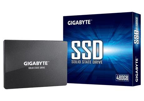 SSD|GIGABYTE|480GB|SATA 3.0|Write speed 480 MBytes/sec|Read speed 550 MBytes/sec|2,5″|MTBF 2000000 hours|GP-GSTFS31480GNTD