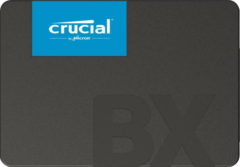SSD|CRUCIAL|BX500|2TB|SATA 3.0|Write speed 500 MBytes/sec|Read speed 540 MBytes/sec|2,5″|MTBF 1500000 hours|CT2000BX500SSD1