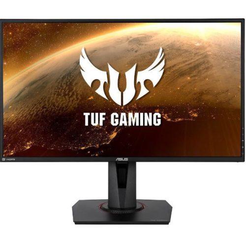 LCD Monitor|ASUS|VG279QM|27″|Gaming|Panel IPS|1920×1080|16:9|280Hz|Matte|1 ms|Speakers|Swivel|Pivot|Height adjustable|Tilt|90LM05H0-B01370