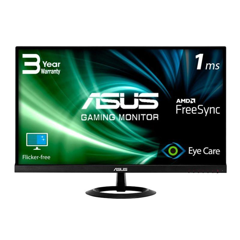 LCD Monitor|ASUS|VX279HG|27″|Gaming|Panel IPS|1920×1080|16:9|75Hz|Matte|1 ms|Tilt|Colour Black|90LM00G0-B01A70