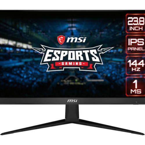 LCD Monitor|MSI|Optix G241|23.8″|Gaming|Panel IPS|1920×1080|16:9|144Hz|Matte|1 ms|Tilt|Colour Black|OPTIXG241