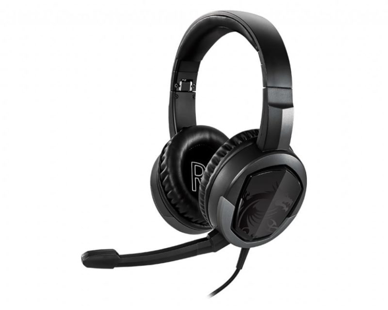 MSI Immerse GH30 V2 Gaming Headset, Wired, Black