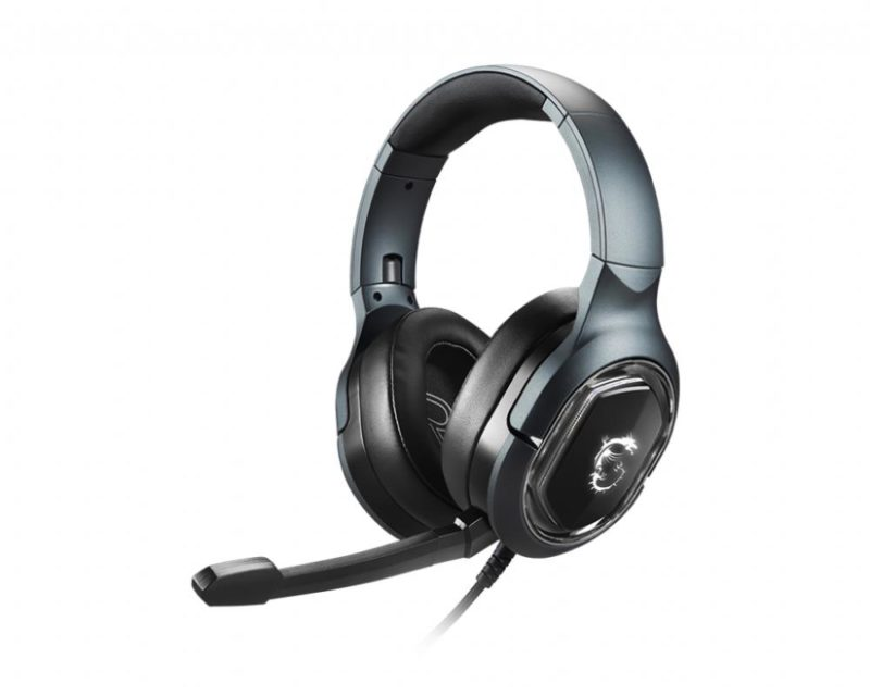 MSI Immerse GH50 Gaming Headset, Wired, Black