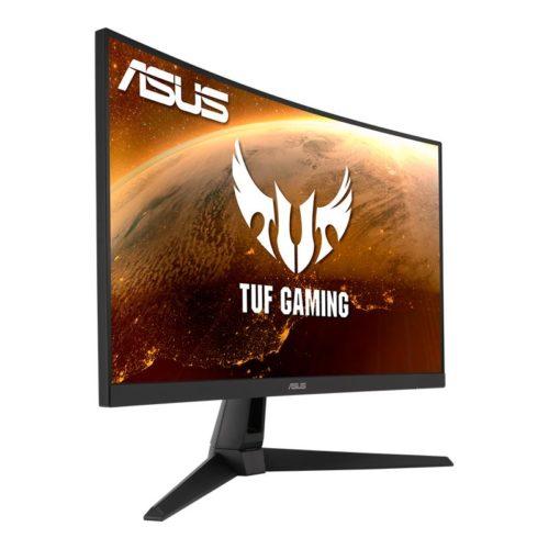 LCD Monitor|ASUS|VG27WQ1B|27″|Gaming|Panel VA|2560×1440|16:9|165Hz|Matte|1 ms|Speakers|Swivel|Tilt|Colour Black|90LM0671-B01170