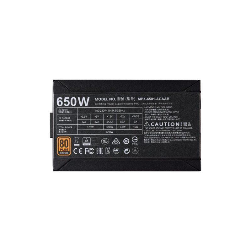 CASE PSU ATX 550W/MPX-5501-ACAABEU COOLER MASTER
