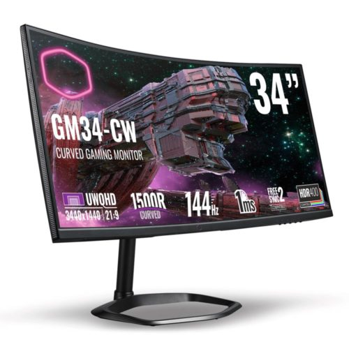 MONITOR LCD 34″/CMI-GM34-CW COOLER MASTER