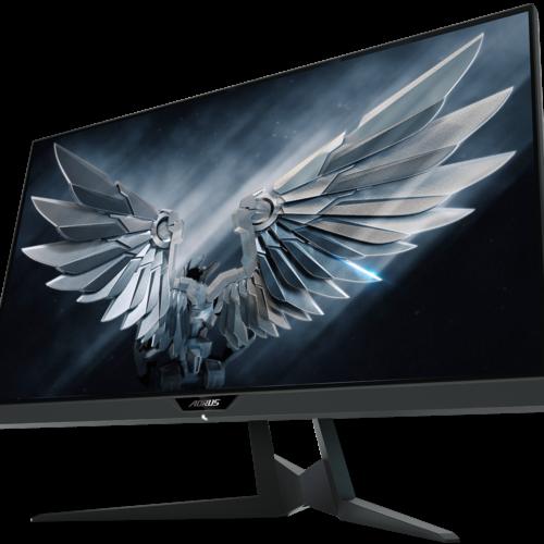 "Gigabyte Gaming AORUS FI27QP-EK 27 "", IPS, QHD, 2560 x 1440 pixels, 1 ms, 350 cd/m², Black"