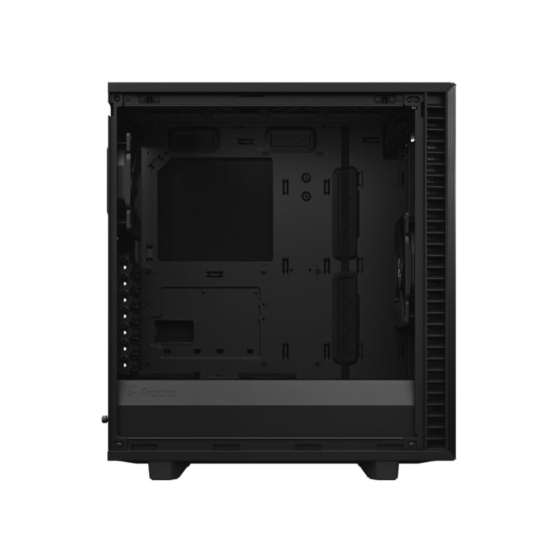Fractal Design Fractal Define 7 Compact Light Tempered Glass Side window, Black, ATX, Power supply included No