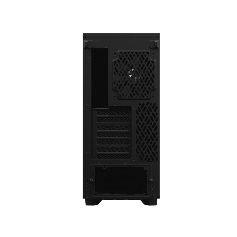 Fractal Design Define 7 Compact Dark Tempered Glass Side window, Black, ATX, Power supply included No