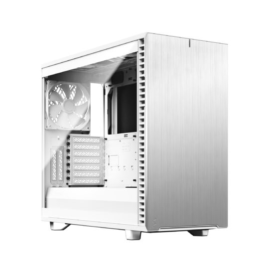Fractal Design Define 7 TG Clear Tint Side window, White, E-ATX, Power supply included No